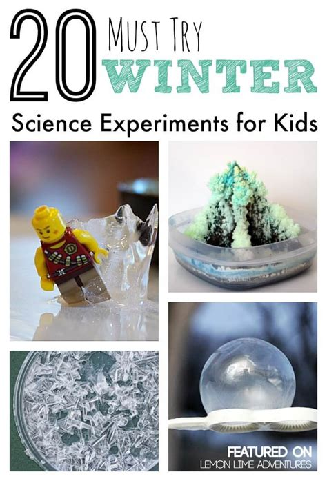 20 must try winter science experiments for