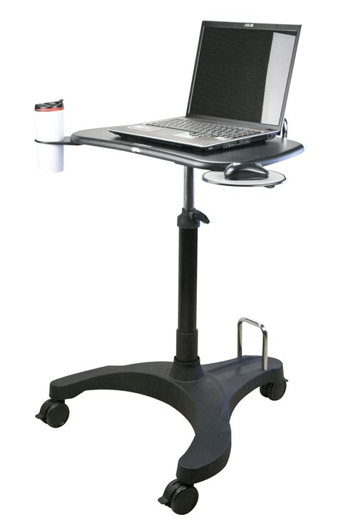 mobile laptop desk upanatom sit stand mobile laptop desk paramount business