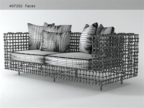 yin yang sofa yin yang sofa 3d model kenneth cobonpue
