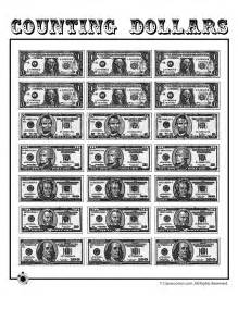 paper money template free printable paper play dollars woo jr activities
