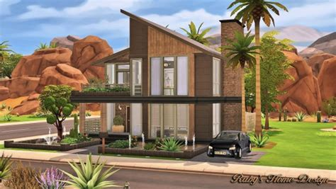 Custom Home Blueprints ruby s home design modern industrial home sims 4 downloads
