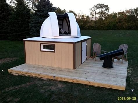 backyard telescope backyard observatory shed observatory homemade diy