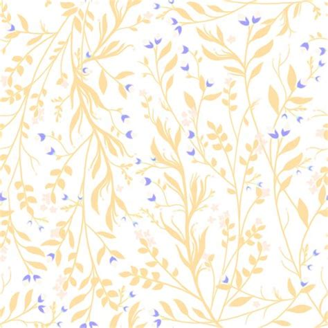 yellow royal pattern tangled vines floral yellow and royal blue wallpaper