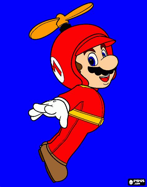 mario helicopter coloring page mario helicopte para colorear mario helicopte para imprimir