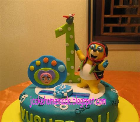 jcakehomemade special agent oso theme cake