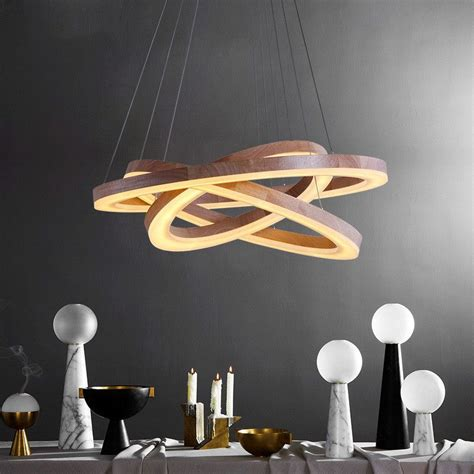modern dining pendant light modern wood light led living dining room pendant lights