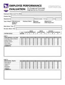 employee performance evaluation form https www yumpu com