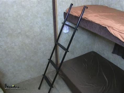 rv bunk bed ladder stromberg carlson rv bunk ladder aluminum black 60