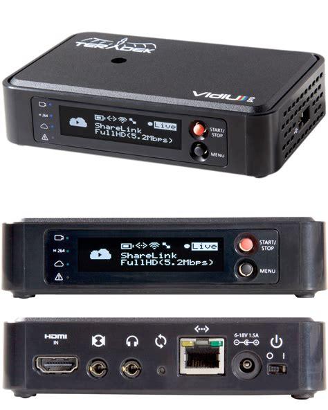Teradek Vidiu Pro teradek vidiu pro live hd streamer recording