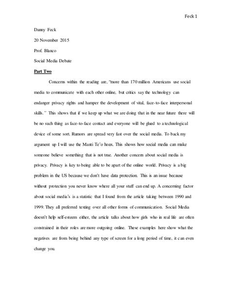 research paper on social media social media research paper