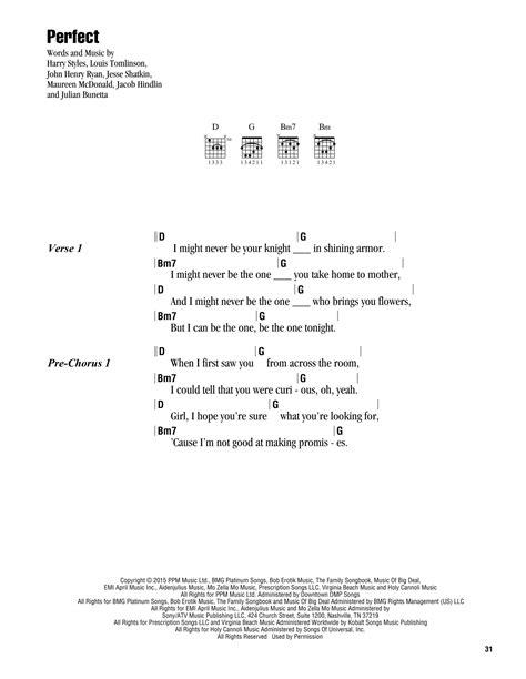 ed sheeran perfect guitar tab perfect sheet music direct