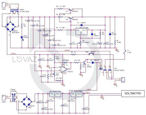 alimentatori stabilizzati schemi schema alimentatore variabile con lm317 fare di una mosca
