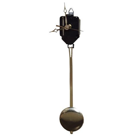 Country Rustic Home Decor Pendulum Clock Movement Large Walnut Hollow Craft