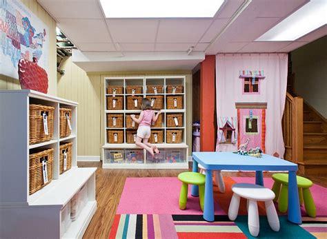 Kids Play Room Basement Kids Playroom Ideas And Design Tips