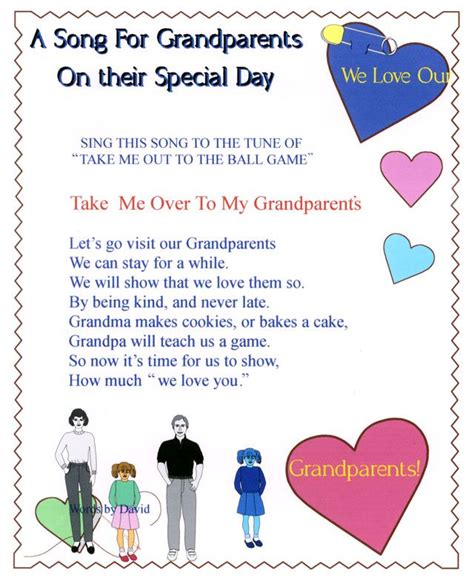 day songs free 17 best ideas about happy grandparents day on