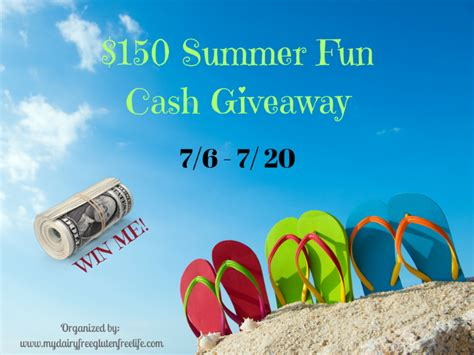 Fun Summer Giveaways - 150 summer fun cash giveaway
