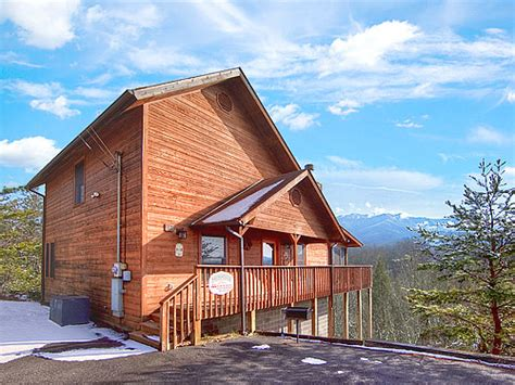 Mysty Mountain Cabin by Pigeon Forge Cabin Mountain View 1 Bedroom