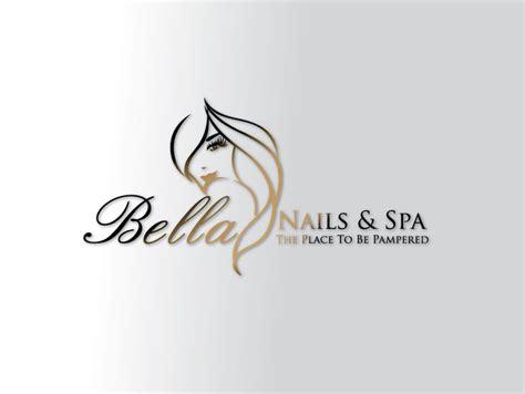 lotus nail and spa nail and spa logo design idea logo and branding