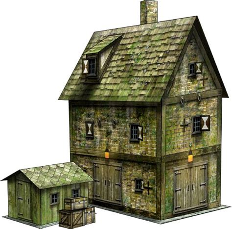 Papercraft Buildings - 17 best images about paper models on