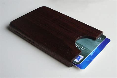 card holder handmade wooden business card holder gadgetsin
