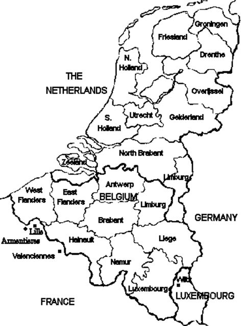 netherlands map black and white netherlands map black and white