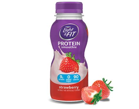 protein smoothies strawberry protein smoothie light fit 174