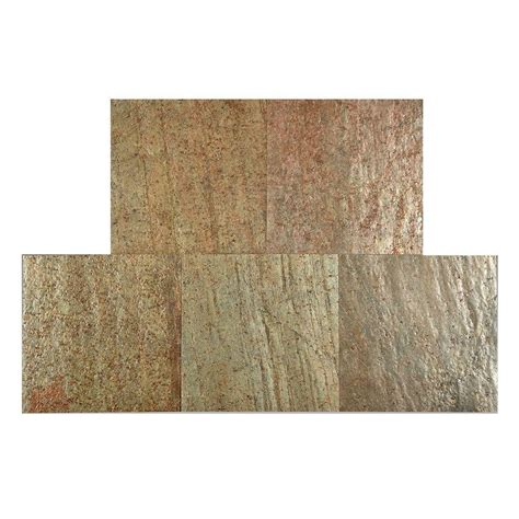 peel and stick wall instant mosaic peel and stick natural stone 12 in x 12 in