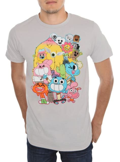 T Shirt Crossover Merch Hearts the amazing world of gumball t shirt topic