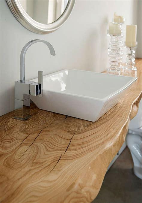 mensola lavabo mensola per lavabo in legno massello con trattamento resinato