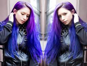 purple blue hair color by hair color ideas in purple hair hairstyles