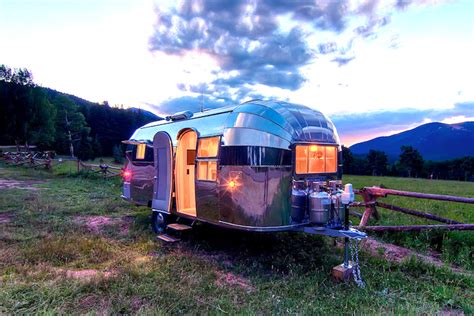 restored 1954 flying cloud airstream in mint condition