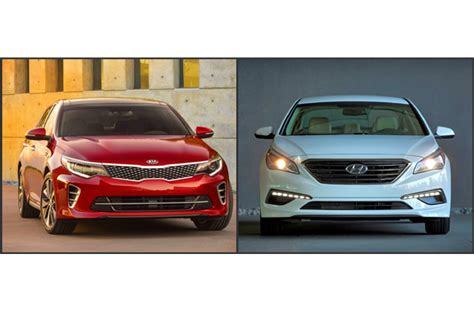 Kia Sonata To 2016 Kia Optima Vs 2016 Hyundai Sonata U