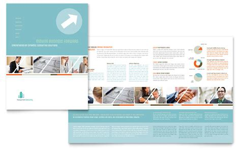 Management Consulting Brochure Template Word Publisher Consulting Brochure Template