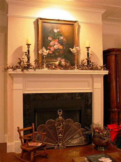 decorations fireplace mantel hearth decorating ideas decoration