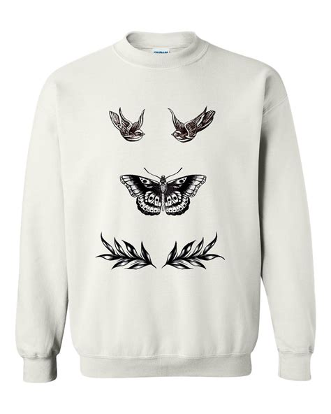 harry styles tattoos sweater harry styles sweatshirt advantees shop