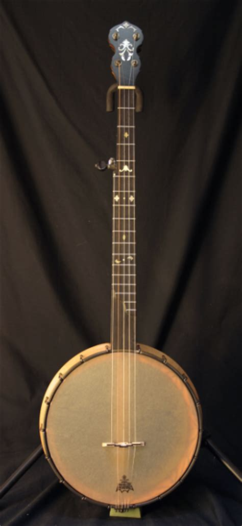 Handcrafted Banjo - buzzard mountain instruments custom banjos