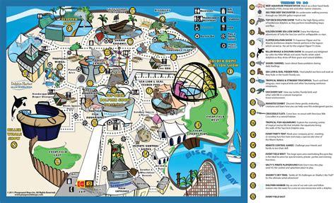 map miami park map miami seaquarium
