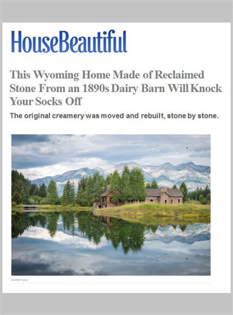 house beautiful february 2017 reclaimed stone house will knock your socks off jlf