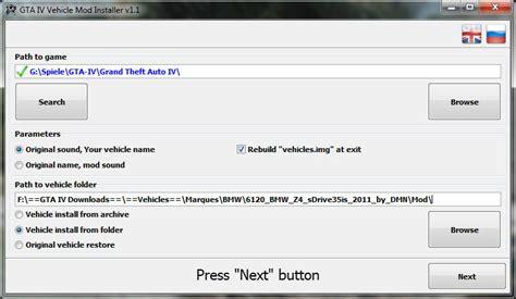 mod gta 5 installer gta iv vehicle mod installer outils pour gta iv sur gta