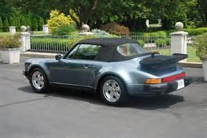 1987 Porsche 911 Cabriolet For Sale 1987 Porsche 911 Cabriolet For Sale 82 900 1471993