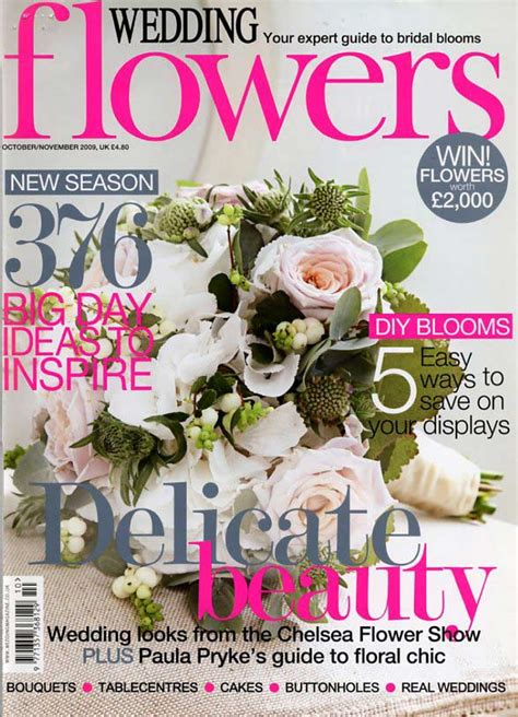 flower wedding magazine white on pink wedding cake wedding flowers magazine