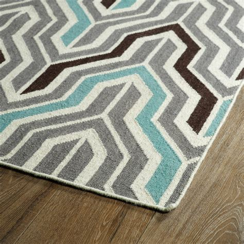 chevron grey rug glam chevron rug in grey rosenberryrooms