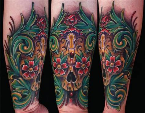 tattoo junkies color filigree www pixshark images