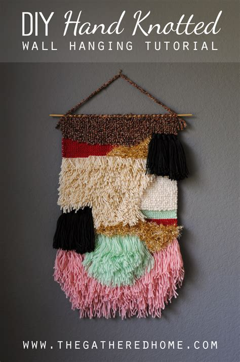 Wall Hanging Tutorial - diy wall hanging tutorial the gathered home