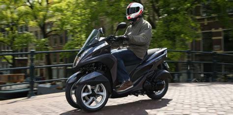 yamaha tricity le scooter 224 trois roues au poids plume