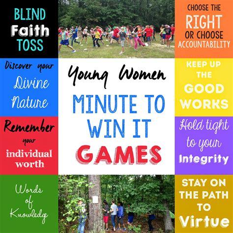 activities ideas s activity idea yw value minute to win it