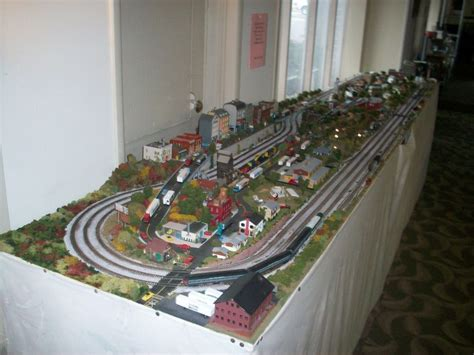 layout n scale train n scale custom built train layout n gage set ebay