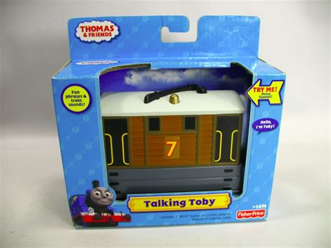 Friends Fisher Price Toby friends talking toby car t0919 tank engine fisher price new