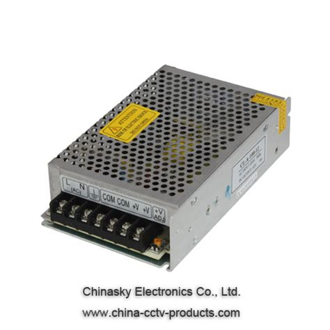 Cuci Gudang Power Supply Cctv 12v 10a cctv power supply box manufacturer and supplier