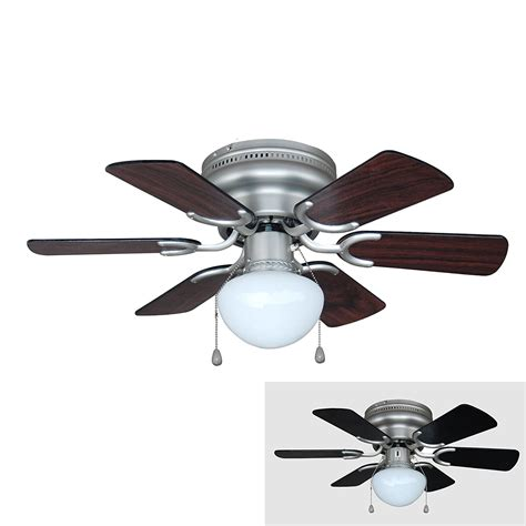 black hugger ceiling fan black ceiling fan with light elegance look with great